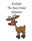 Rudolph the Red-Nosed Reindeer Book to Illustrate