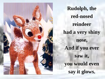 Rudolph the Red Nosed Reindeer Christmas Powerpoint