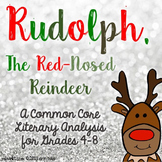Rudolph the Red Nosed Reindeer ~ Common Core Literary Analysis for 4th-8th