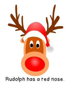 Rudolph the Red Nosed Reindeer Errorless Adapted Book