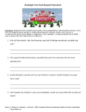 Rudolph the Red-Nosed Reindeer- Movie Activity