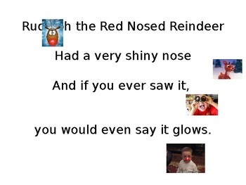 Rudolph the Red Nosed Reindeer Powerpoint