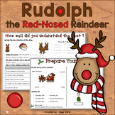 Christmas Reading Activities - Rudolph, the Red-Nosed Reindeer