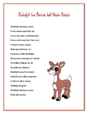 Rudolph the Red-nosed Reindeer Lyrics in Italian -- Christmas Around the World