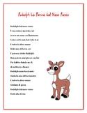 Rudolph the Red-nosed Reindeer Lyrics in Italian -- Christ