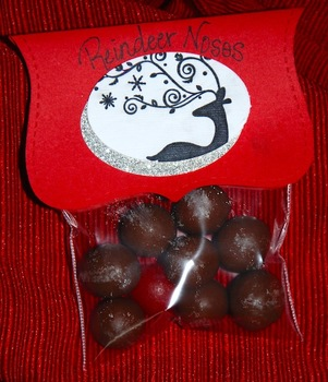 Rudolph/Reindeer Noses student gift for Christmas (Set of 12)