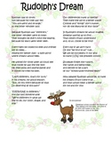 Rudolph's Dream - Character Education/Teasing/Empathy
