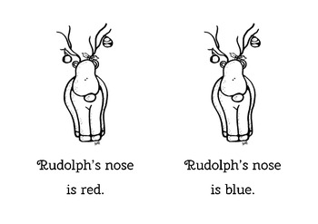 Rudolph's Nose - Emergent Reader
