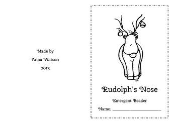 Rudolph's Nose - Emergent Reader
