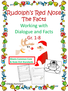 Rudolph's Red Nose: The Facts (Gr. 2-8)
