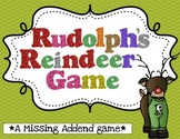 Rudolph's Reindeer Game {A Missing Addends Game}
