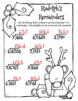 Rudolph's Remainders