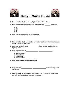 Rudy - Movie Guide