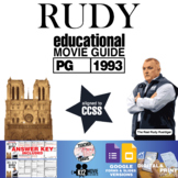 Rudy Movie Guide | Questions | Worksheet (PG - 1993)