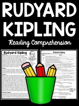 Rudyard Kipling biography article with questions Folklore