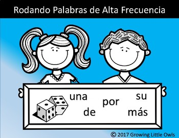 Rueda, Lee, Escribe Palabras de Alta Frecuencia/ Roll, Read, and Write Sight