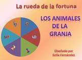 Rueda de la fortuna- Los animales de la granja