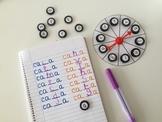 18 Ruletas en blanco y  10 hechas + botones para hacer juegos.