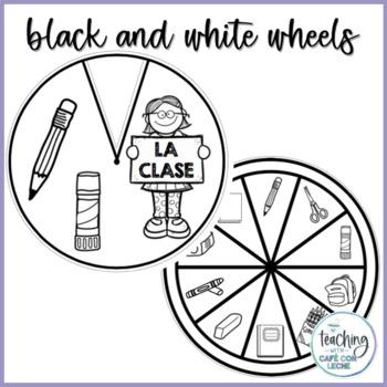 Ruedas de la clase - School Supplies Wheels