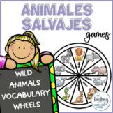 Ruedas de los animales salvajes - Wild Animals Wheels
