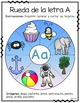 Ruedas del Alfabeto - Spanish Clip Cards Literacy Center