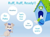 Ruff Ruff Ready Puppy Morning Routine Chart