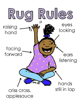Rug Rules Poster