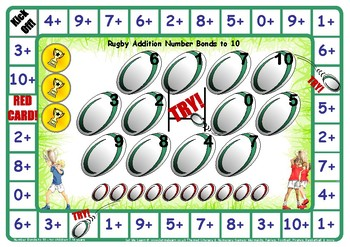 Rugby Number Facts to 10