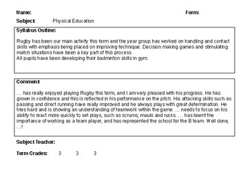 Rugby Reports