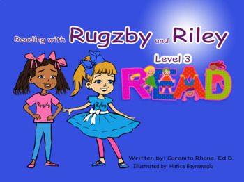 """Rugzby Reader Book 3 - Sight Word """"red"""""""