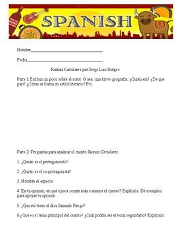 Ruinas Circulares por Jorge Luis Borges Review packet