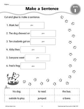 Rule 1: Sentences--A sentence is a whole thought.