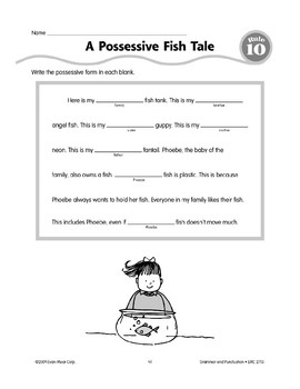 Rule 10: Forming Possessive Nouns