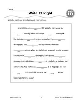 Rule 10: Irregular Verbs