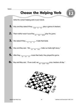 Rule 12: Three Kinds of Verbs