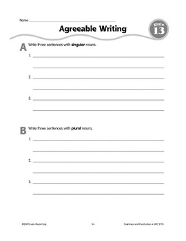 Rule 13: Subject-Verb Agreement