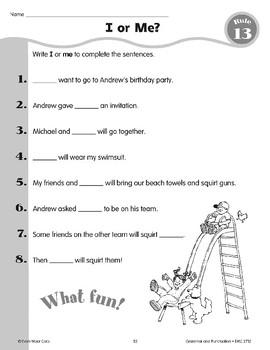 """Rule 13: Using """"I"""" & """"Me"""""""