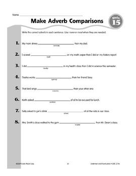 Rule 15: Adverbs Describe Verbs, Adjectives, or Other Adverbs