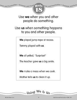 """Rule 18: Using """"We"""" & """"Us"""""""