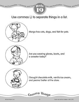 Rule 19: Commas Separate Things in a List