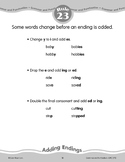 Rule 23: Adding Endings (Suffixes & Spelling Changes)