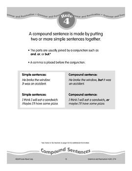 Rule 4: Compound Sentences