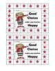Rule # 5 - Make your teacher Happy  - Whole Brain Card