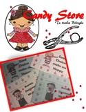 Make your teacher Happy  - Whole Brain Punch Card
