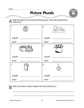Rule 6: Singular & Plural Nouns