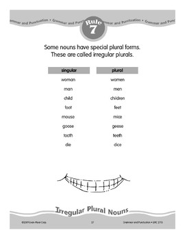 Rule 7: Irregular Plural Nouns
