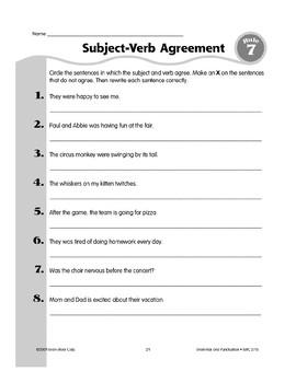 Rule 7: Three Kinds of Verbs