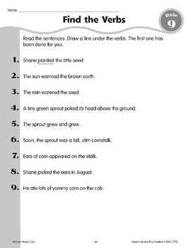 Rule 9: Verbs Name an Action