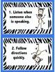 Rule Cards in Zebra Print