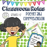 Classroom Rules Poetry and Comprehension